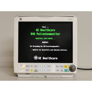 Patient monitor - GE - B40