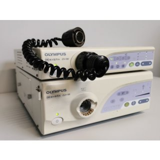 Endoscopy processor + light source  - Olympus - CV-160 + CLV 160