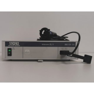 endoscopy processor - Storz - telecam SL II pal 202130 20 + camera head 20212030