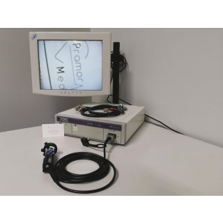 endoscopy processor - Storz - telecam SL pal 202120 20 + camera head 20212030