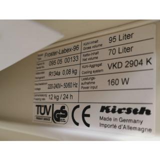 laboratory freezer - Krisch - Forster Labex 96