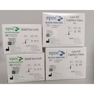 Blood Analysis System - Siemens - epoc host + reader
